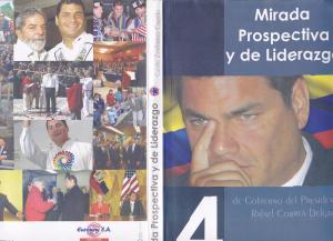Guido Zambrano sociólogo y politótogo ecuatoriano, entre los varios libros que ha escrito está Mirada Prospectiva y Liderazgo, donde se analiza el gobierno del presidente Rafael Correa
