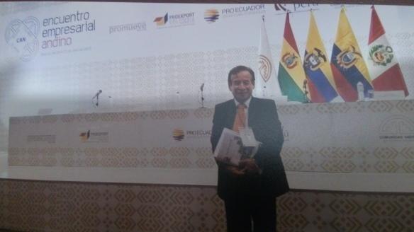 Encuentro empresarial en Bogotá