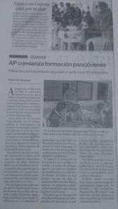 Crónica del evento que se realizó en Guayaquil para el liderazgo de los jóvenes